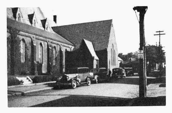 The new parish house, 1937